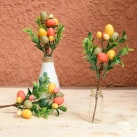 easter egg tree decor creative branch with painting eggs spring party supplies kindergarten easter decoration home ornament