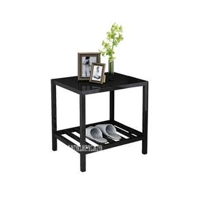 CTG323 современный простой lron прикроватный шкаф для гостиницы, тумбочка для спальни, многофункциональный ночной столик, домашний квадратный п...