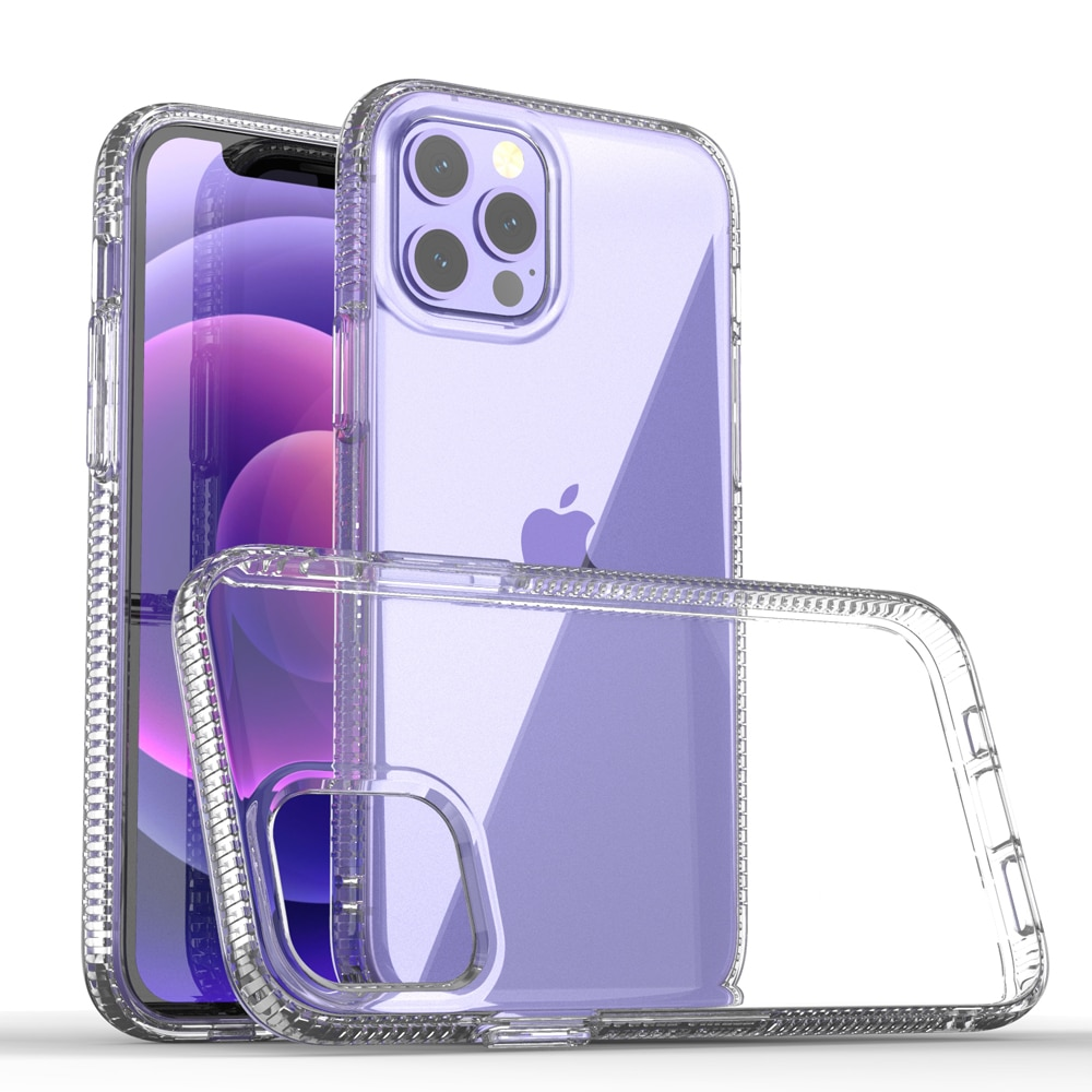 HD Clear Case For iPhone 12 Pro TPU Back Cover With Air-Bag Anit-Shock&Fall&Dust&Scratch Full Protec