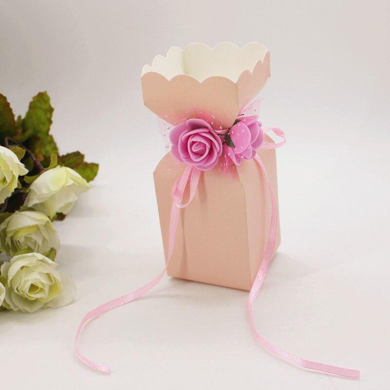 Dulce amor caja de azúcar Favor dulces Cajas de Regalo boda Baby Shower de alta calidad