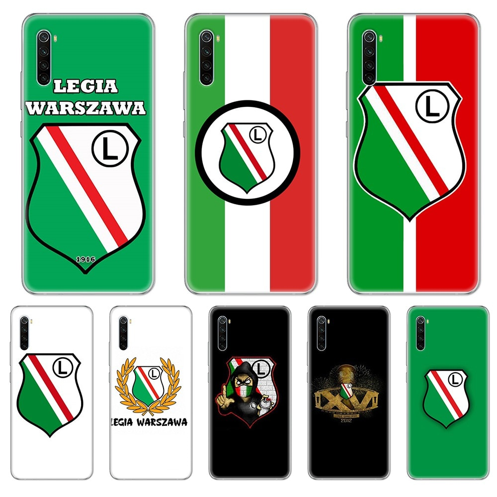Fútbol Legia Warszawa Polonia funda de teléfono para xiaomi Redmi 3S 4A 5A 6A 5 Plus 4X 7 8 8a CC9 K20 Pro K30