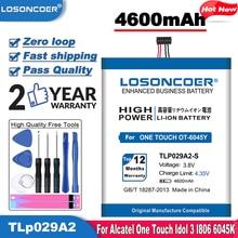 "LOSONCOER 4600mAh TLP029A2-S TLP029A2 Battery For Alcatel One Touch Idol 3 I806 TLp029AJ Pop 3 5.5"" OT-5025/5025D 6045Y 6045K"