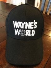 Wayne-casquettes de Cosplay World, casquette de Baseball avec Logo brodé, couvre-chef