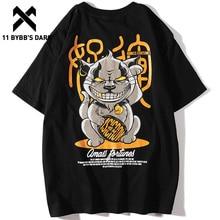 11 BYBBS impression 3d Animal foncé T-shirts hommes 2019 été décontracté Streetwear coton décontracté à manches courtes Hip Hop Harajuku hauts T-shirts