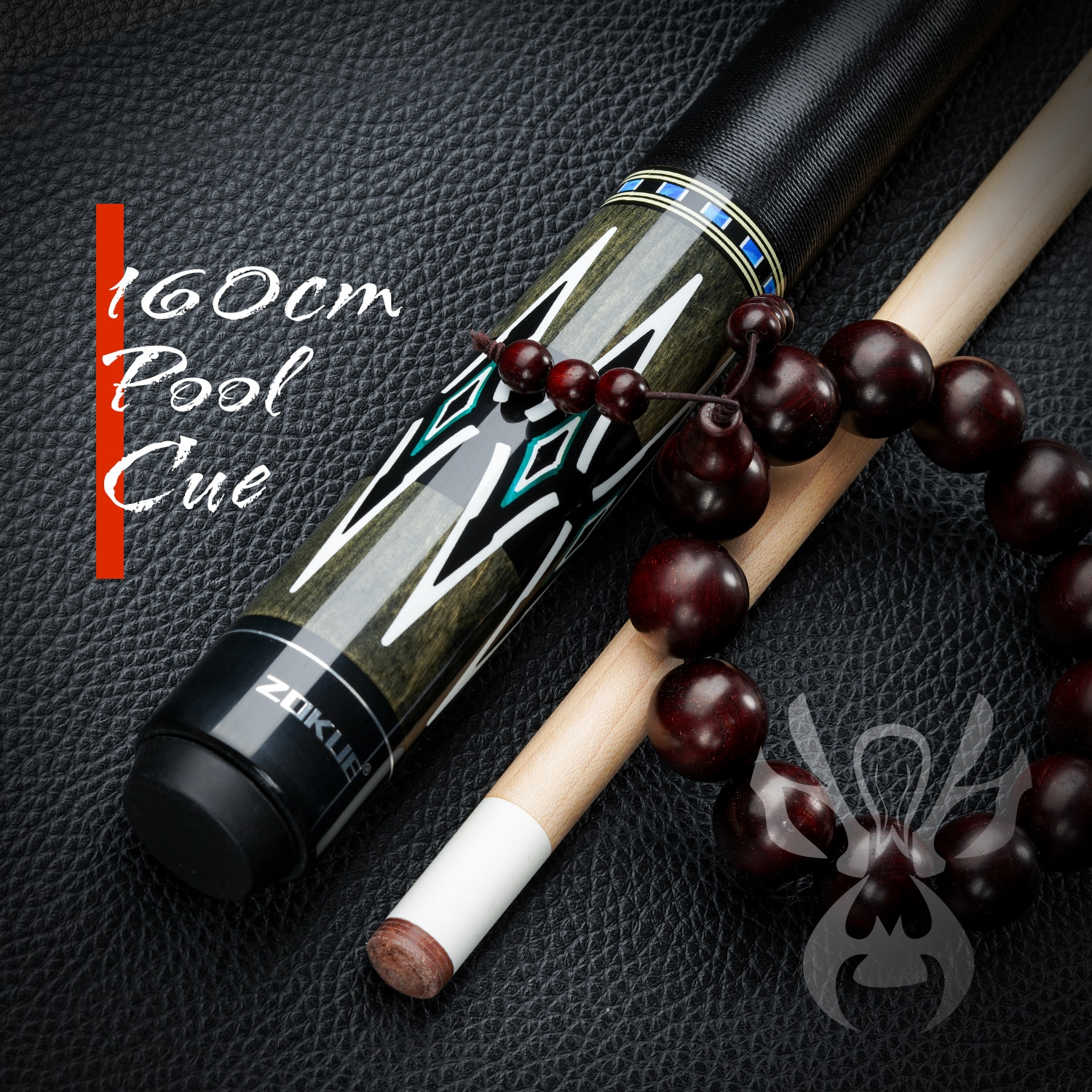 ZOKUE Billiard Cue 3/8*8 Radial Pin Pool Cue Stick Featured Canadian Hard Maple 160cm 12.75mm Cue With Case For Tall Man