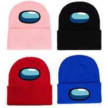 Adult Unsex Beanie Hat Winter Autumn Soft Warm Knited Multicolor Hat Gorros Mujer Invierno Among us