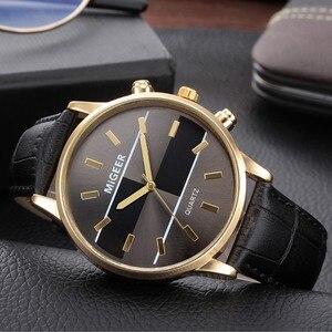 Unsiex Watches Casual Quartz Watch For Men And Women Leather Band New Strap Analog Wristwatch Relogio Feminino Relogio Masculino
