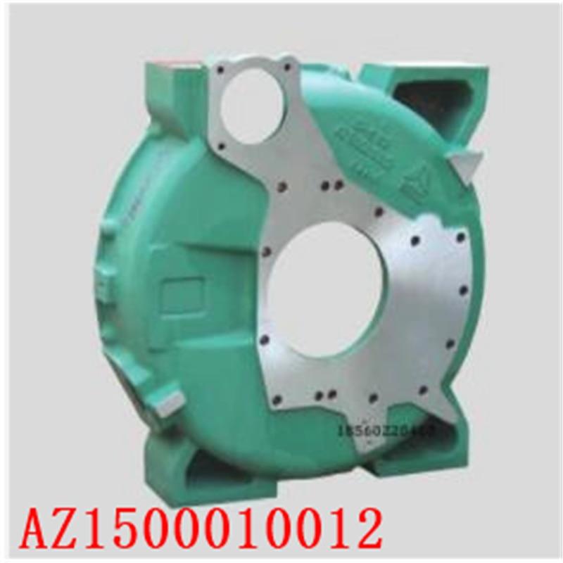 Para camiones pesados, piezas de motor, piezas de motor, WD615, carcasa de volante AZ1500010012