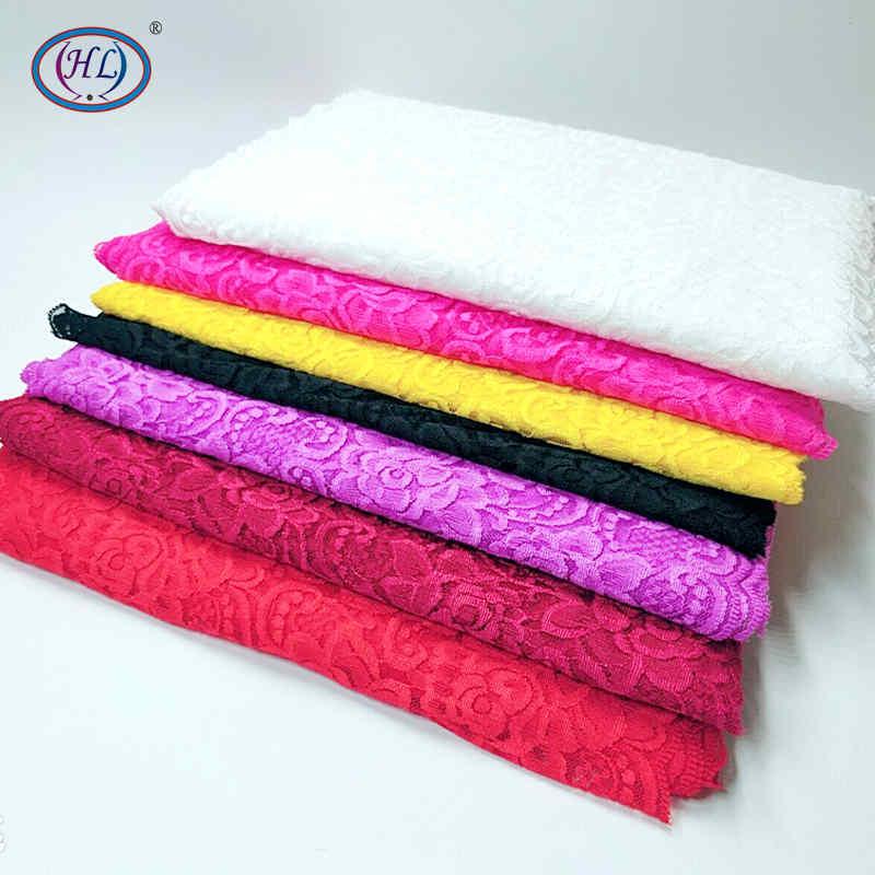 HL 1 Yard 30CM Wide Stretch Lace DIY Clothing Spandex  Underwear Wedding Dress Crafts Sewing Accessories HB008