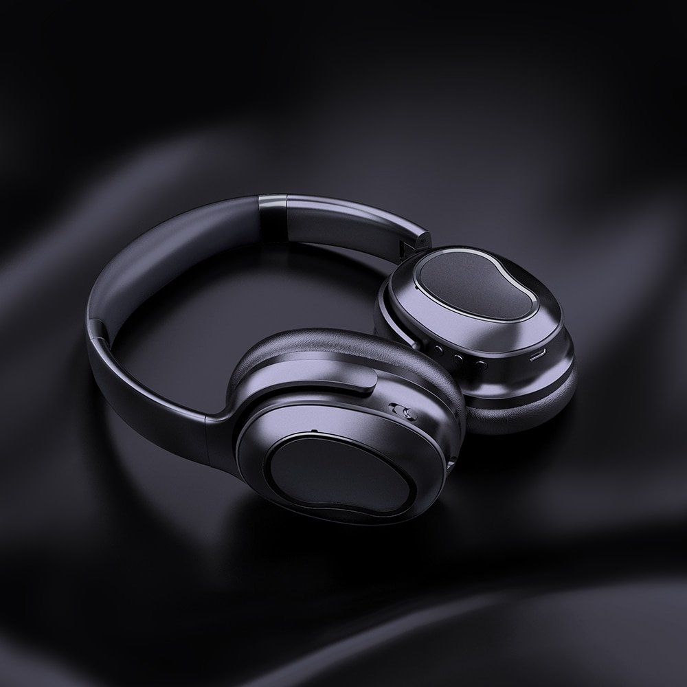 TRULYPLUS Noise Cancelling Headphones with Active Noise Cancelling Wireless Over Ear Bt Headphones