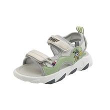 CNFSNJ brand new Summer Non-slip Boys light Genuine Leather Sandals Shoes Soft Flat Kids Children Ba