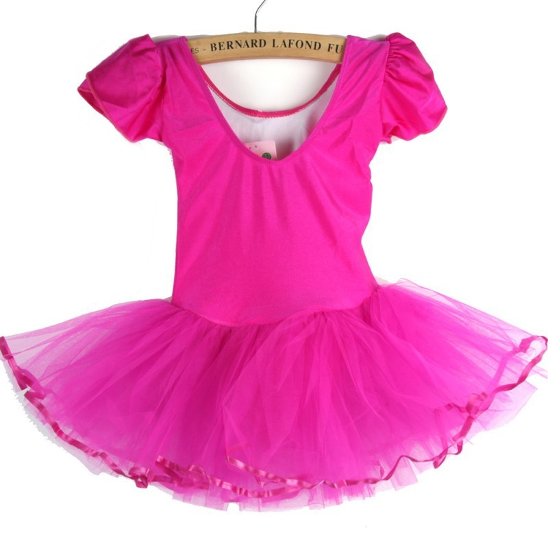 Vestido para niñas y niños, vestido de tutú para baile de 3 a 7 años