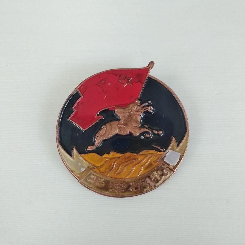 Vintage 1948 Years military region Badge Medal tactics Medallion militiaman Medal