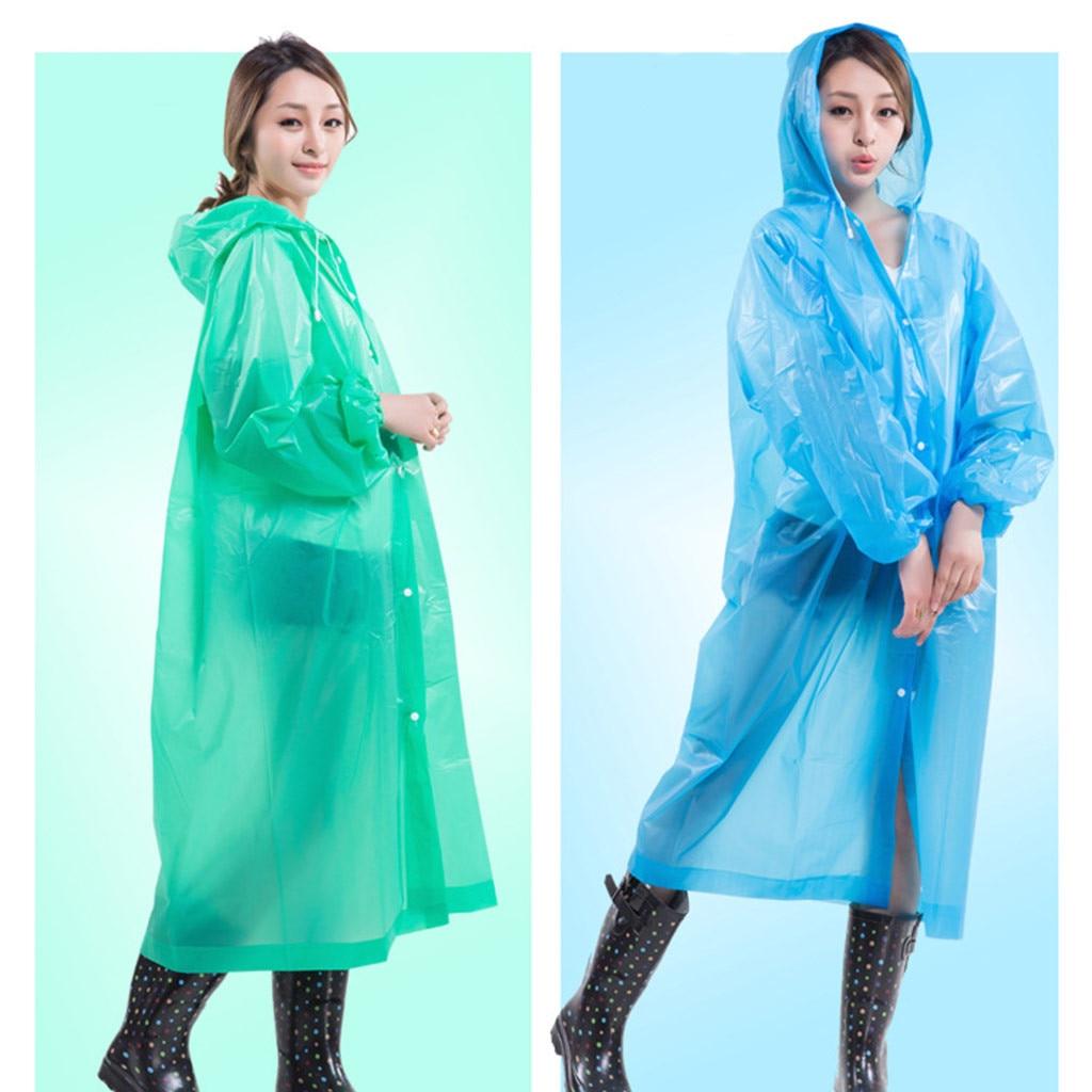 Женский плащ-блузка jetable детский непромокаемый плащ дождевик унисекс утепленный портативный для взрослых Z5