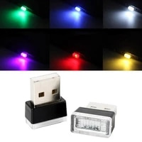 Auto Lampe Decorative Mini USB LED Voiture Home Cinema Lumiere Interieure Automatique Neon Atmospheres Ambiantes-Lampe