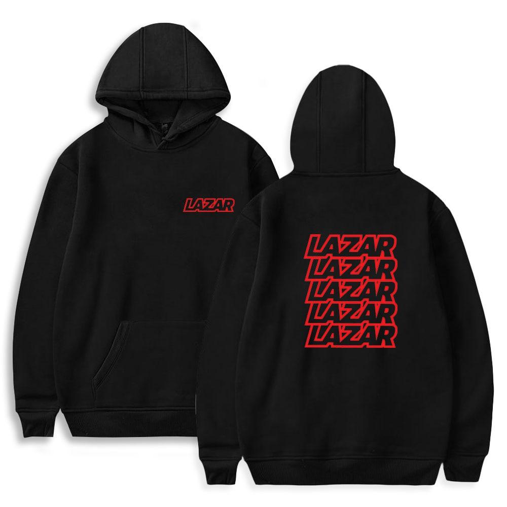 LazarBeam Fashion Prints Hoodies Women/Men Long Sleeve Hooded Sweatshirts Hot Sale Casual Harajuku S