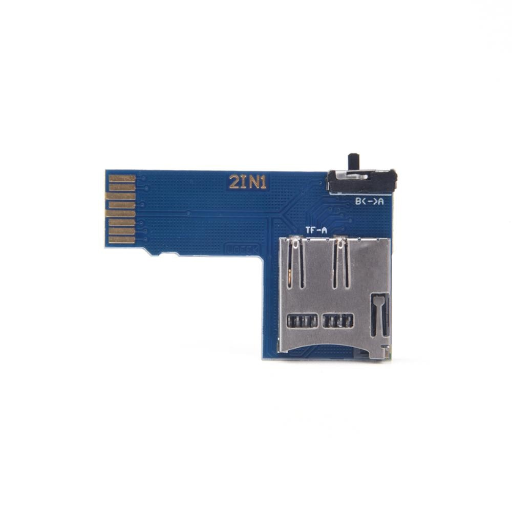 Dual System Dual TF Card Adapter Memory Board 2 in 1 TF Micro SD Card Adapter With Switch For Raspberry Pi 3B+/3B/ Zero W enlarge