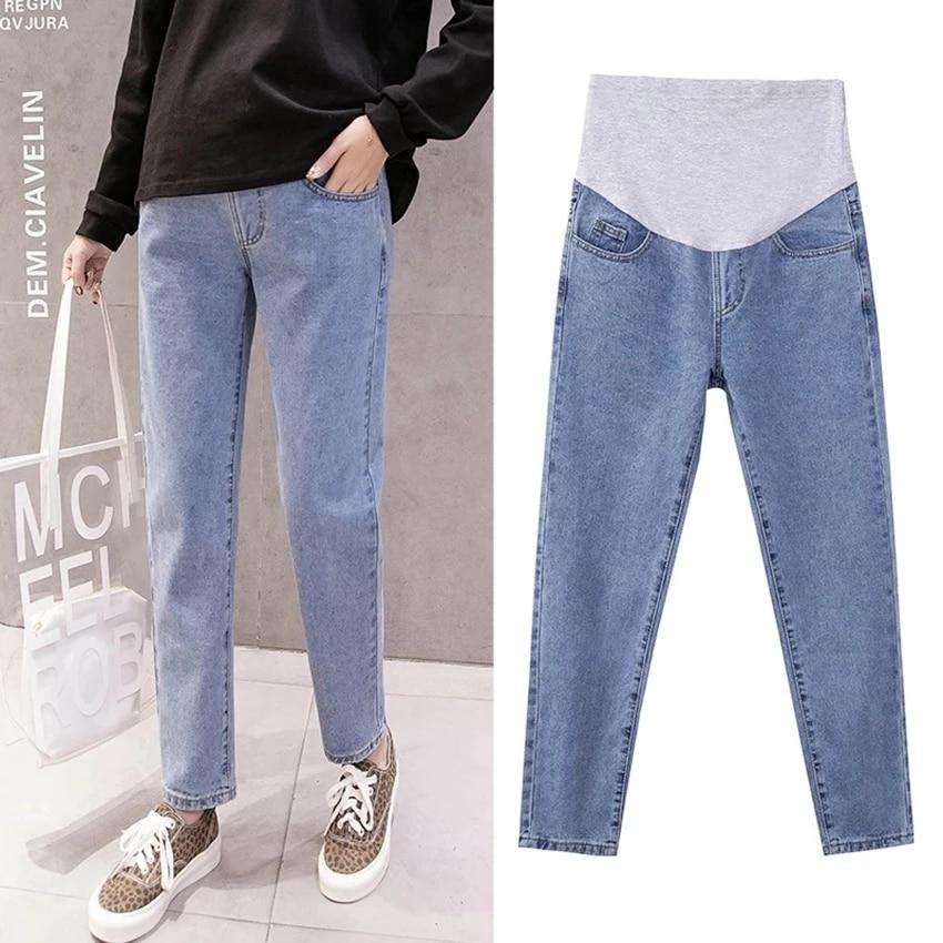 Джинсы штаны для беременных свободные широкие брюки для беременных Брюки для беременных джинсы для беременных Одежда для беременных брюки ...
