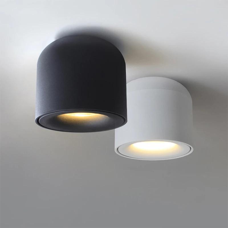 سطح شنت مصباح موجه Led بقعة ضوء تركيبات السقف لغرفة المعيشة غرفة نوم المطبخ الحمام الممر الديكور ضوء