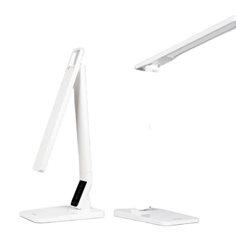 LED مكتب داخلي القراءة الكتابة المألوف ضوء اللمس عكس الضوء USB الناتج الجدول مصباح