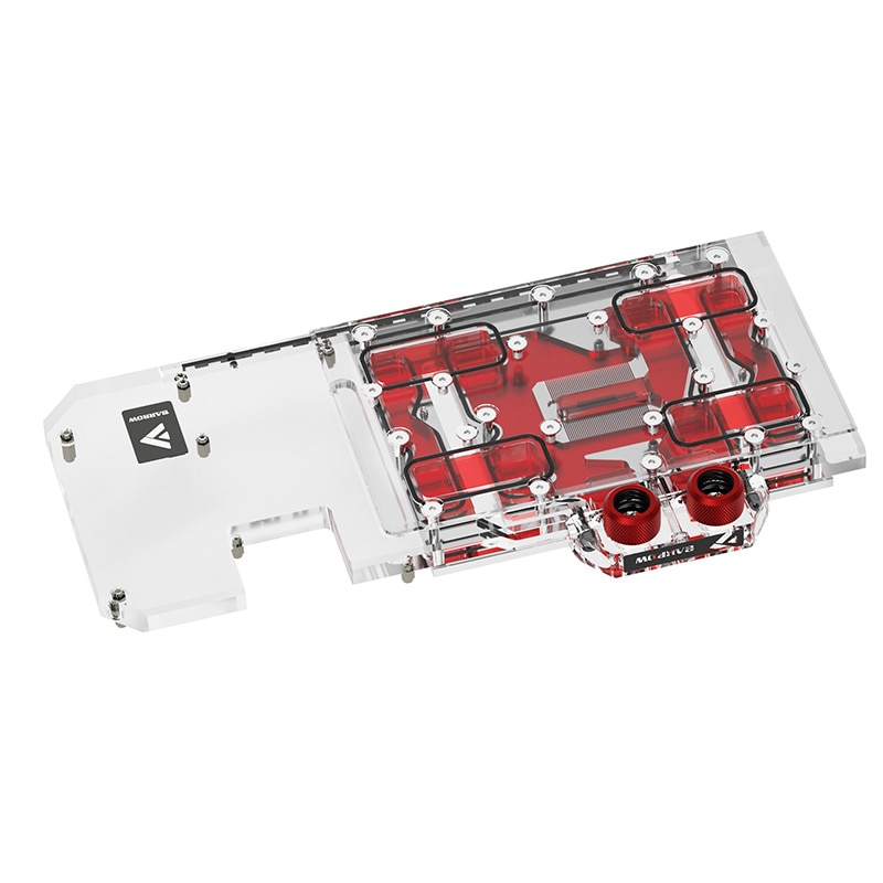 Barrow GPU Water Block For ASUS ROG STRIX RTX3070 O8G GAMING Graphics Card ,Full Cover ,5V 3PIN Light Effect ,BS-ASS3070-PA