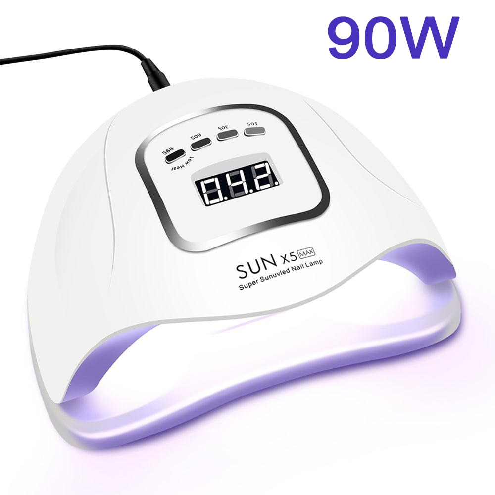 LED Nail Lamp for Manicure 114W/90W/54W Nail Dryer Machine UV Lamp For Curing UV Gel Nail Polish Wit