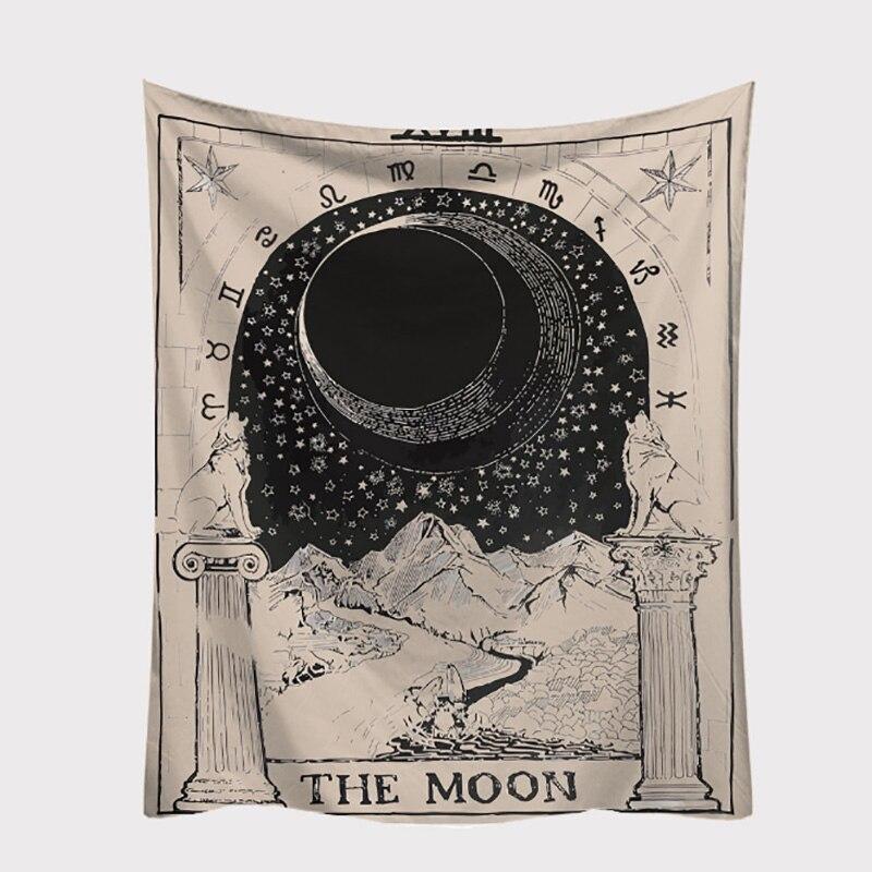 10 tipos de manteles de Tarot, cubierta de sofá de astrología, tapiz, hermoso patrón, juego de Tarot, accesorio de juego de mesa