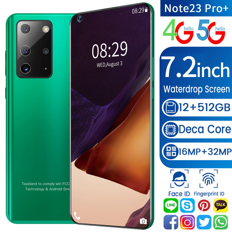 Galay S21 Ultra 7.2 Inch Smartphone 4G 5G Unlock 16MP+32MP 16GB+512GB 5800mAh Mobile phones Telefon Smartphone Global Version