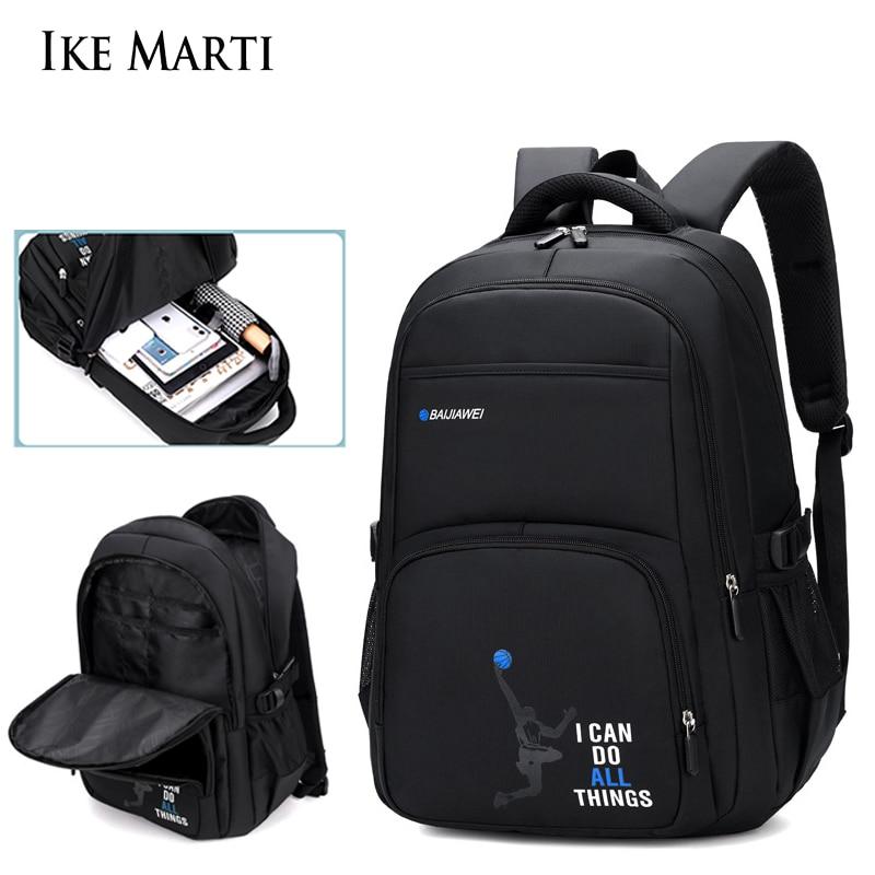 Мужской рюкзак из ткани Оксфорд, с несколькими карманами и USB-зарядкой   АлиЭкспресс