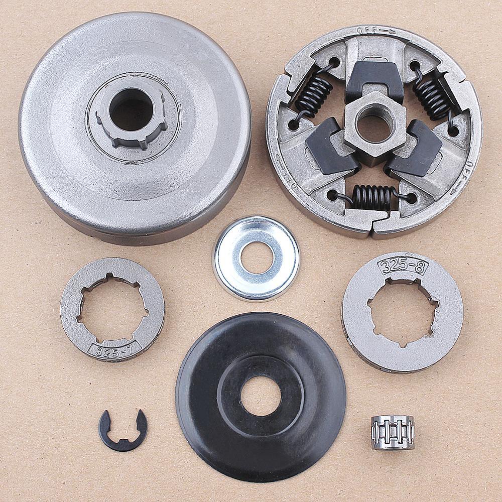 Clutch Drum Rim Sprocket Kit For Stihl 026 MS260 024 MS240 Chainsaw 1121 160 2051 , 11211602050 w Needle Bearing