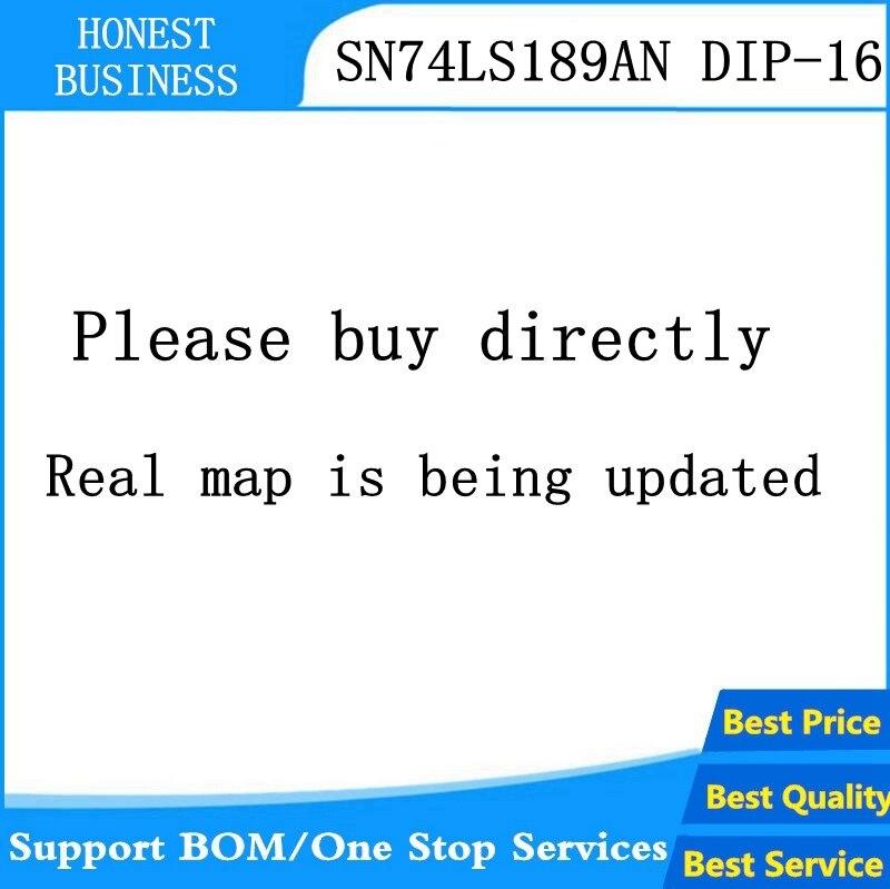10 UDS-50 Uds SN74LS189N DIP-16 74LS189 DIP16 SN74LS189 DIP 74LS189N SN74LS189AN