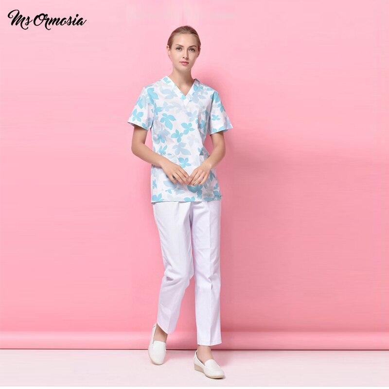 Новинка 2020, унисекс, стоматологическая Спецодежда для здоровья, скрабы для женщин, хлопковая форма, одежда для ухода, лабораторная форма для...