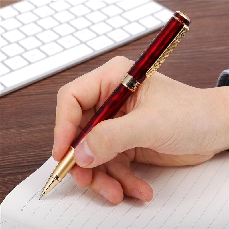 Пикассо черный 0,5 мм ручка Ручка-роллер металлические шариковые ручки Рождественский подарок для офисная техника