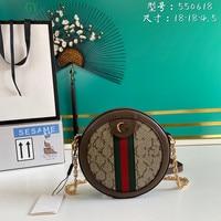 550618 real leather top quality bolsa feminina Shopping Luxury Women Shoulder Bags Female Leather famous brand Chain Handbag