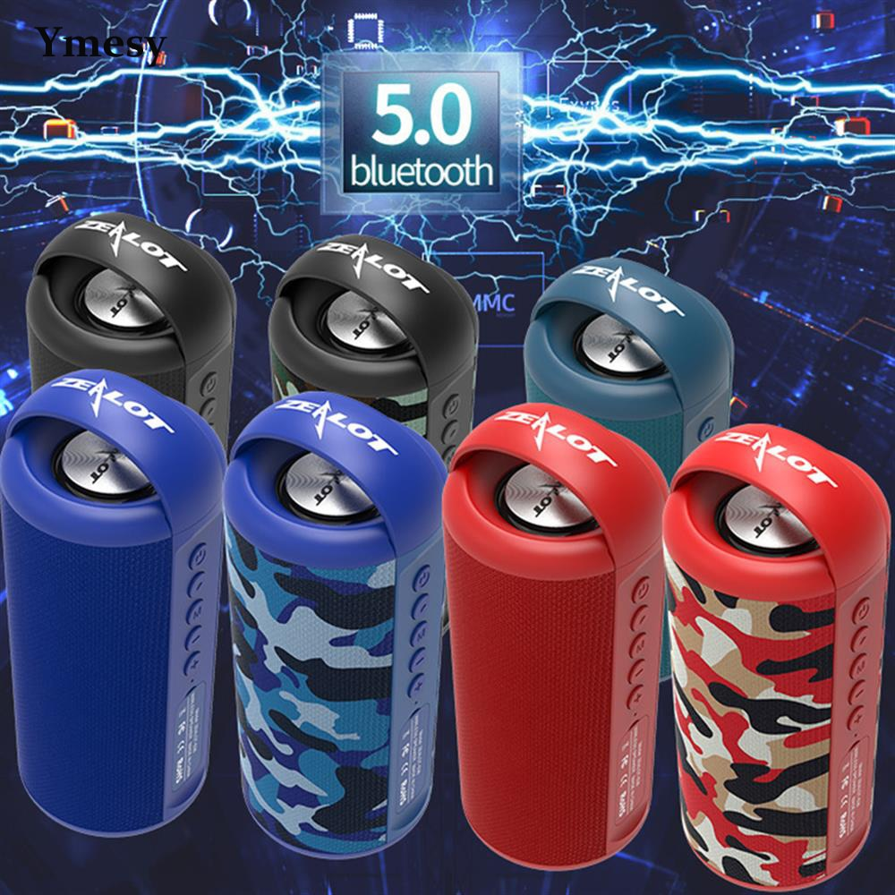 Ymesy New Portable Wireless Speaker With lanyard Waterproof Ultra Bass Subwoofer Sound Support TF card U Disk Smart Mobile Phone enlarge