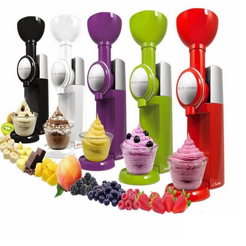 آلة صنع أيس كريم كبير بوس Swirlio آلة الفاكهة المجمدة الآيس كريم المنزل كامل التلقائي آلة طين صغيرة المنزلية