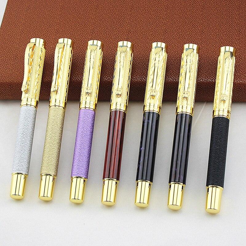 Шариковая ручка серии dika wen, роскошная школьная авторучка, металлические перьевые ручки для письма, канцелярские принадлежности для офиса и...