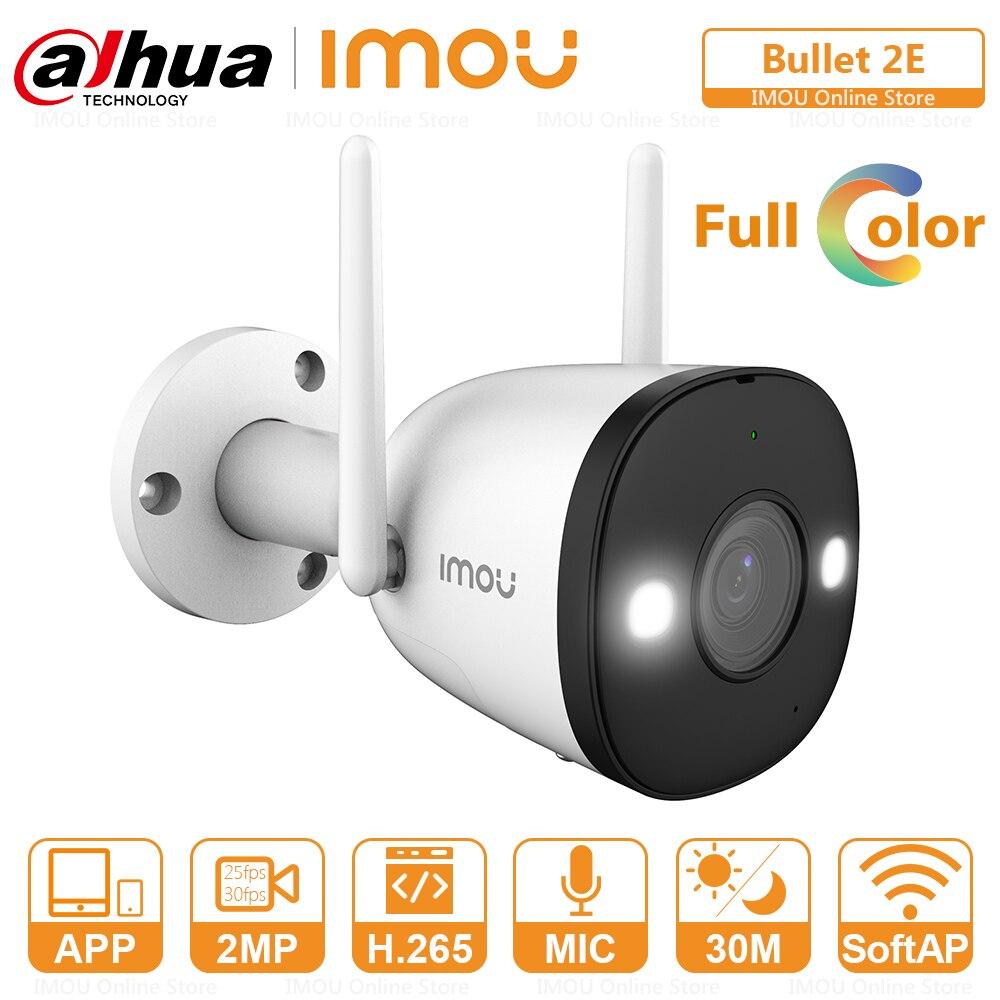 داهوا-كاميرا مراقبة خارجية IP Wifi Full Color ، جهاز عرض مدمج ، تسجيل صوتي ، ONVIF ، وضع AP ، P2P