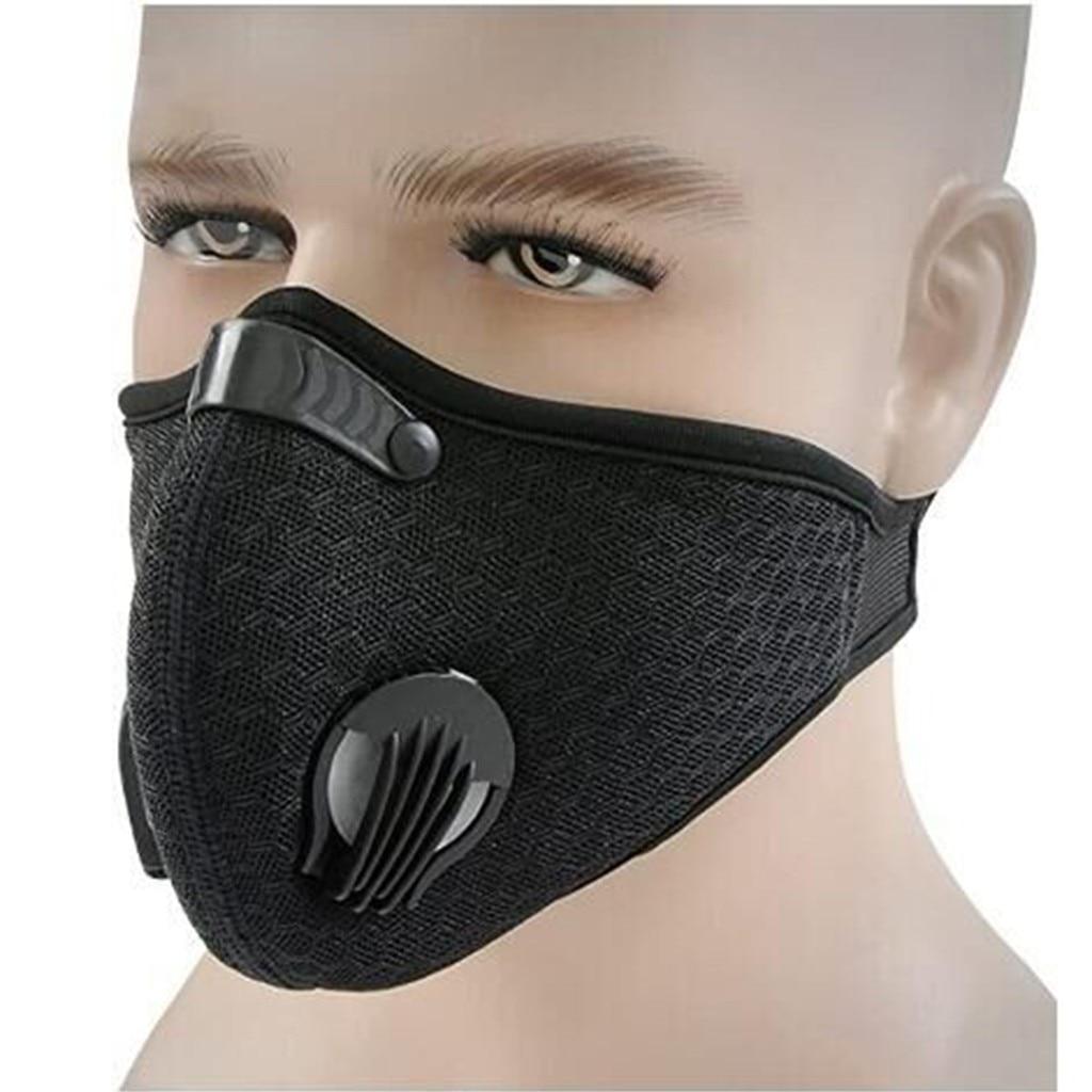 Di modo Maske Cotone Riutilizzabile Outdoor Anti-polvere Mezza-a muffola Antivento Per Lo Sci Bicicletta Lavabile Mouthmask Sciarpa