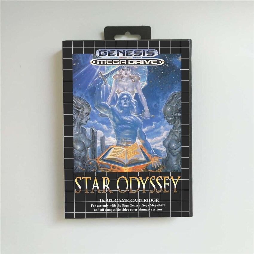 Star Odyssey-funda para batería, con caja, tarjeta de juego MD de 16...