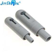 1 ensemble/2 pièces gris universel HVE niveau Valve salive pivotant ventouse poignée daspiration outils dentaires