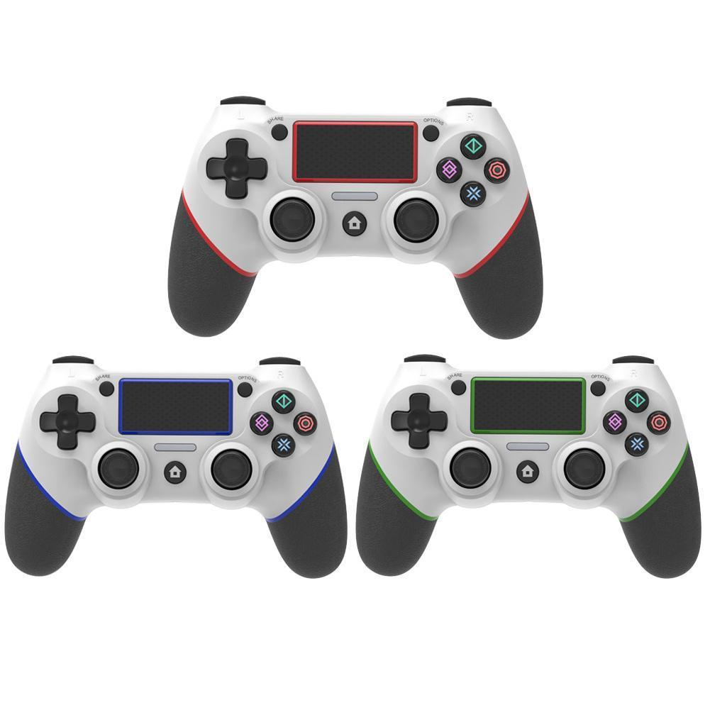 New Wireless Bluetooth Gamepad Dual Motors With Vibration 6 Axis Gamepad Game Component For PS4 Gamepad Joystick