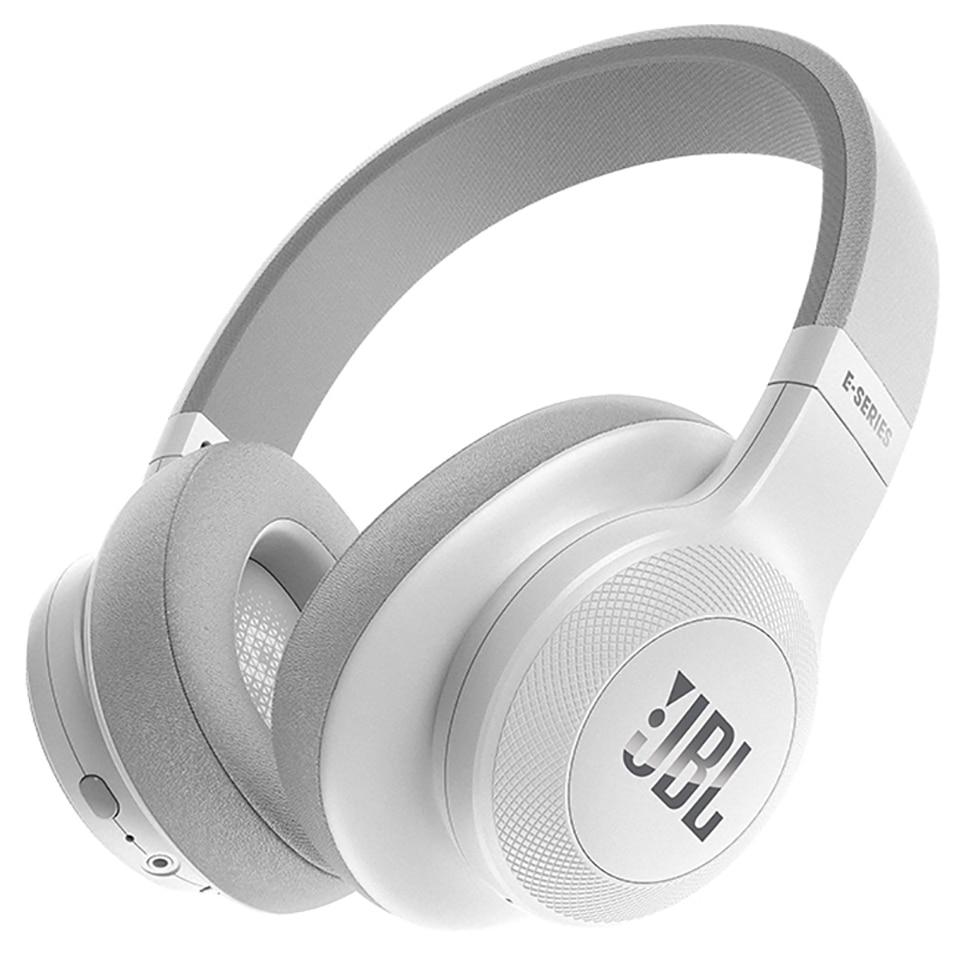 Jbl-auriculares E55BT inalámbricos Bluetooth, auriculares plegables portátiles con micrófono, auriculares súper graves, Auriculares deportivos HiFi AUX IN