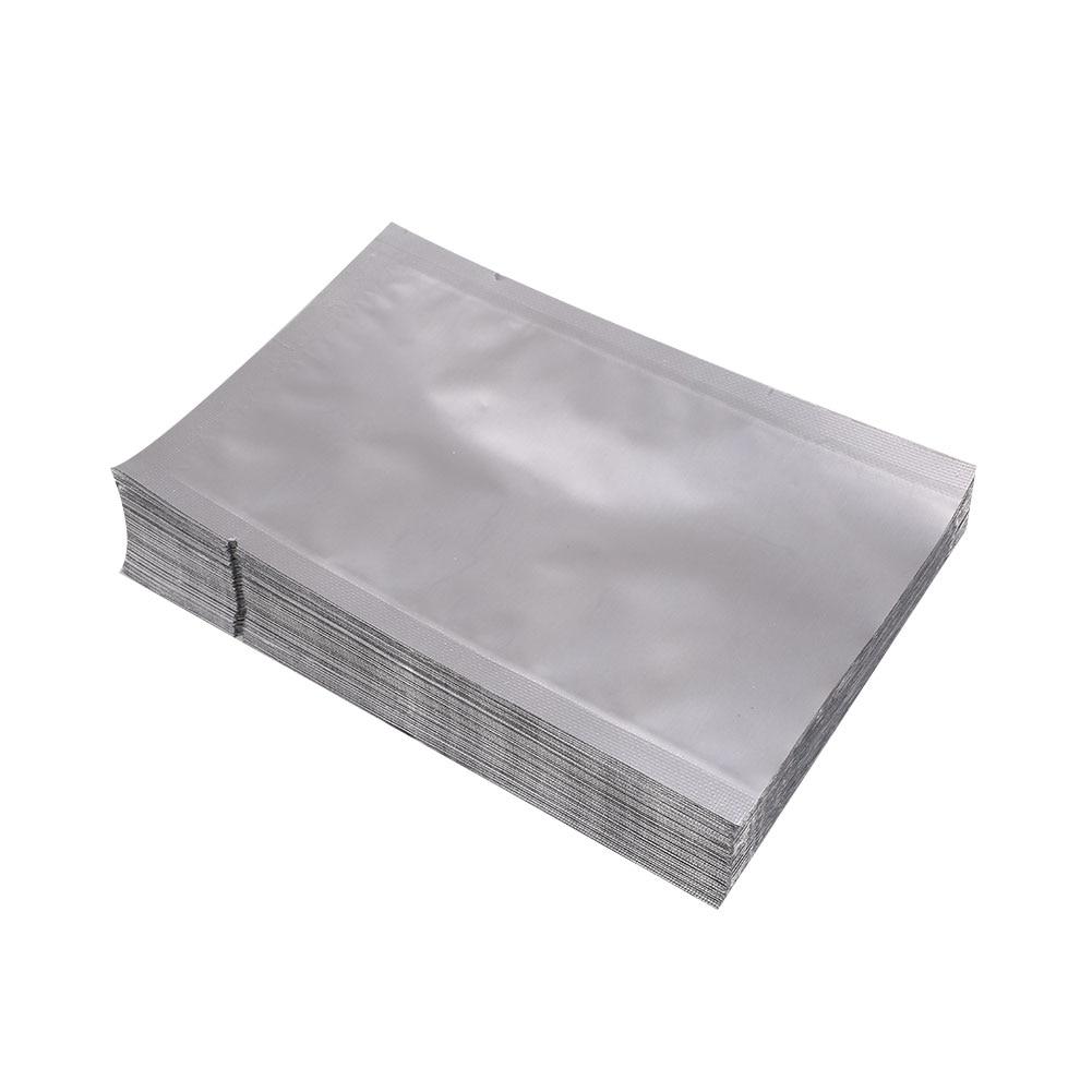 Papel de aluminio plateado Mylar paquete bolsa vacío hogar sellador para almacenamiento de alimentos bolsas