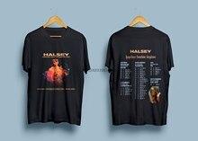HALSEY Hopeless founton Kingdom Tour 2018 Мужская Футболка размер S-2XL