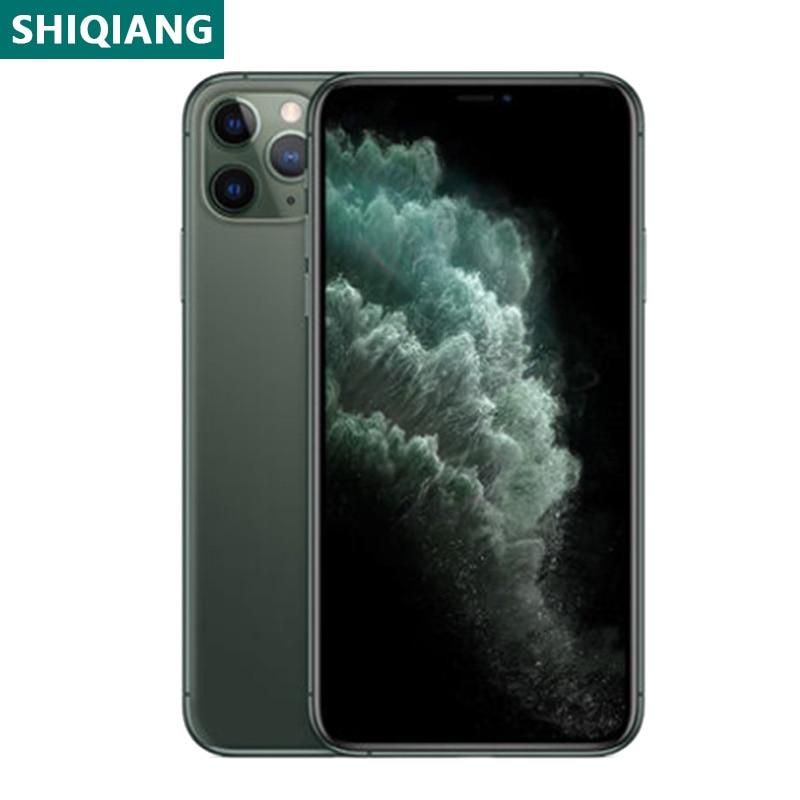Перейти на Алиэкспресс и купить Б/у оригинальный разлоченый iPhone 11 Pro Max 6,5 дюймовых смартфонов уход за кожей лица 64/256 ГБ мобильные телефоны 1 сим-карты мобильные телефоны