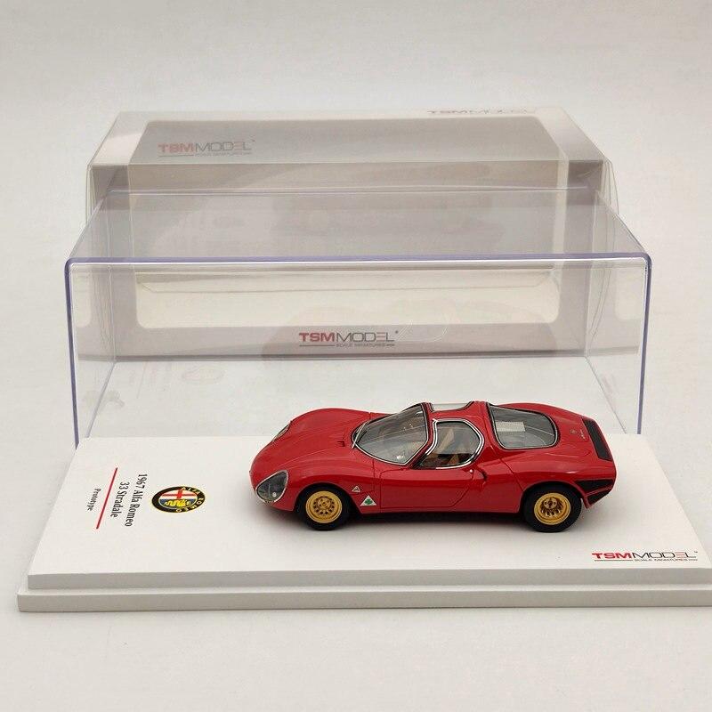 Modelos TSM 143 para Alfa Romeo 33 Stradale 1967 prototipo de resina modelos Colección de Edición limitada