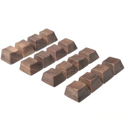 وول الخشب keycap oem الشخصي ل mx لوحة المفاتيح الميكانيكية R4 R3 R2 R1 WASD مفاتيح الأسهم 6.25u الفضاء بار غطاء