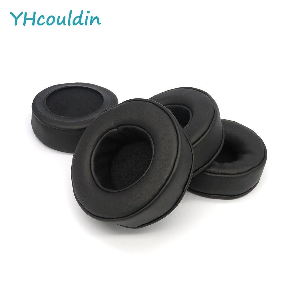 Almohadillas de oído YHcouldin para auriculares Superlux HD440 reemplazo de almohadillas de oído de cuero