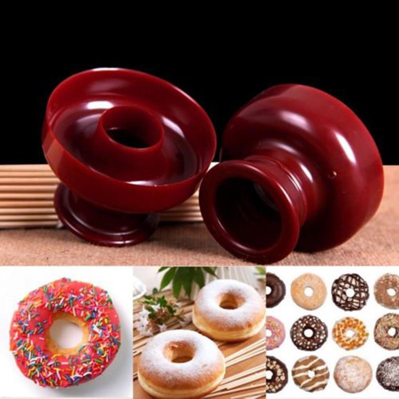 Food Grade Donut Mold Dessert Doughnut Donut Maker Cutter DIY Cake Mould Fondant Decor for Bakery Baking Tool Kitchen Gadget